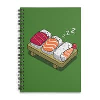 Sushi - spiral-notebook - small view