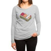 Sushi - womens-long-sleeve-terry-scoop - small view