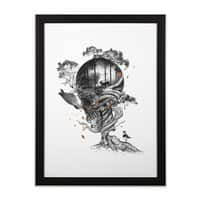 Lost Translation - black-vertical-framed-print - small view
