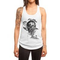 Lost Translation - womens-racerback-tank - small view