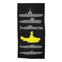 Know Your Submarines - beach-towel - small view