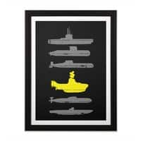 Know Your Submarines - black-vertical-framed-print - small view