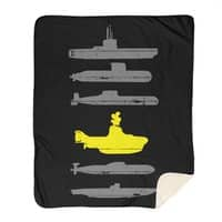 Know Your Submarines - blanket - small view