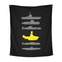 Know Your Submarines - indoor-wall-tapestry-vertical - small view
