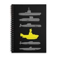 Know Your Submarines - spiral-notebook - small view