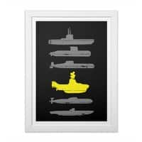 Know Your Submarines - white-vertical-framed-print - small view