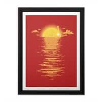 Cooling Down - black-vertical-framed-print - small view