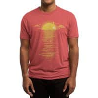 Cooling Down - mens-triblend-tee - small view