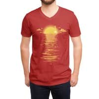 Cooling Down - vneck - small view