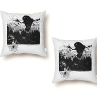 Perfect Timing - throw-pillow - small view