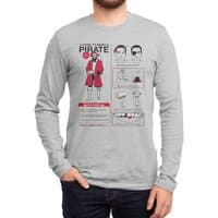 A Guide to Being a Pirate - mens-long-sleeve-tee - small view