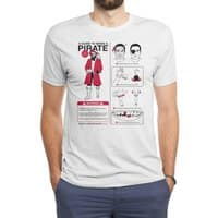 A Guide to Being a Pirate - mens-triblend-tee - small view