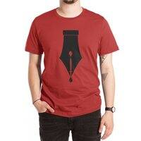 The Pen is Mightier than the Sword - mens-extra-soft-tee - small view