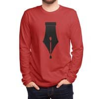 The Pen is Mightier than the Sword - mens-long-sleeve-tee - small view
