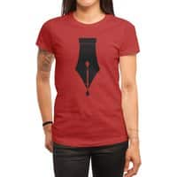 The Pen is Mightier than the Sword - womens-regular-tee - small view