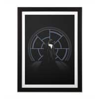 The Emperor - black-vertical-framed-print - small view