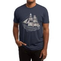 Wherever the Wind Blows - mens-triblend-tee - small view