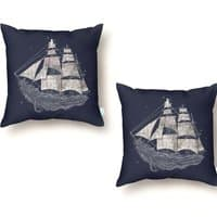 Wherever the Wind Blows - throw-pillow - small view