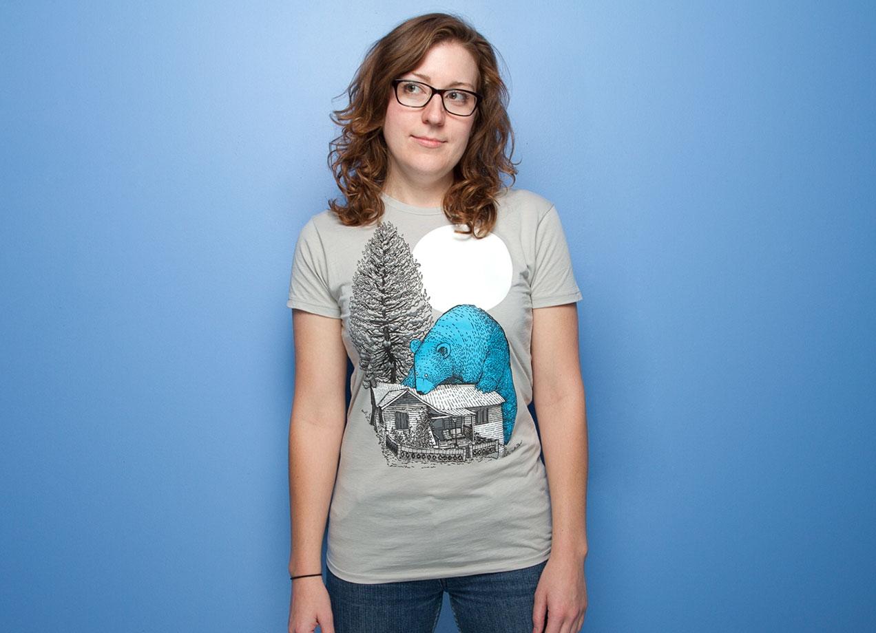 The Gigantic Blue Bear Of Portola By Mat Pringle Threadless