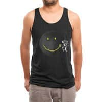 Make a Smile - mens-triblend-tank - small view