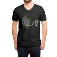Make a Smile - vneck - small view