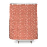 Chinese Fingertrap - shower-curtain - small view