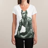 I Got $5 on It - womens-sublimated-v-neck - small view