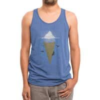 Hidden Part of Icebergs - mens-triblend-tank - small view