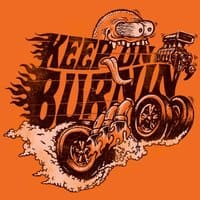 KEEP ON BURNIN'  - small view