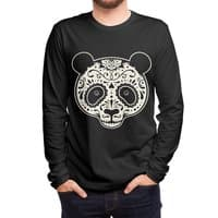 Day of the Dead Panda - mens-long-sleeve-tee - small view