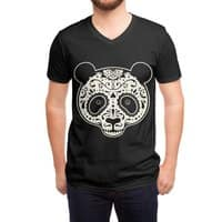 Day of the Dead Panda - vneck - small view