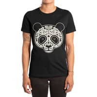 Day of the Dead Panda - womens-extra-soft-tee - small view