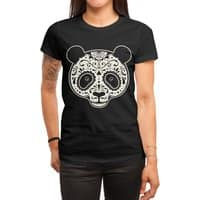 Day of the Dead Panda - womens-regular-tee - small view