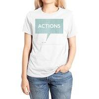 Louder Than Words - womens-extra-soft-tee - small view