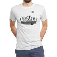 The End of The Road - mens-triblend-tee - small view