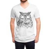 Owltical Illusion - vneck - small view