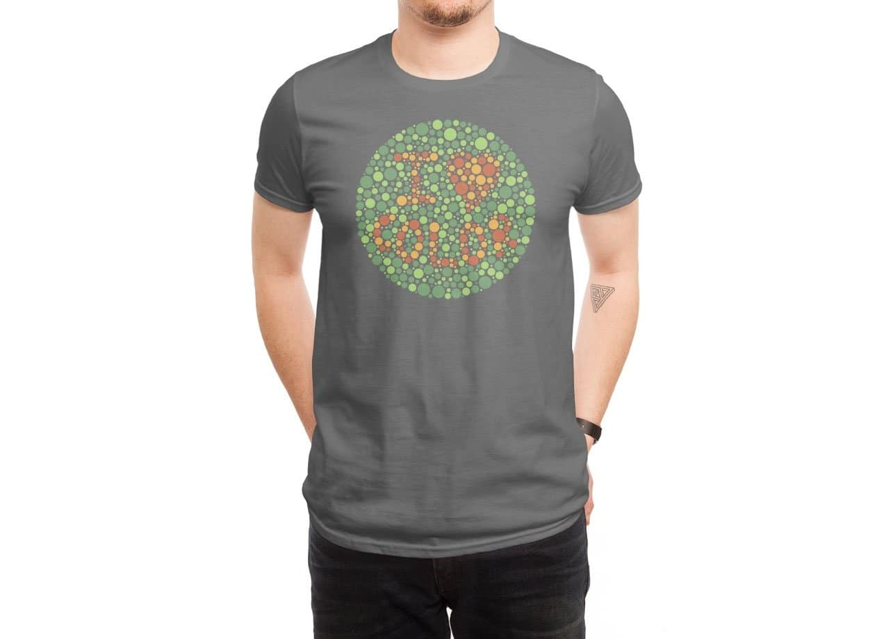 f51e86e83 I Heart Color by Dan Gilbert | Men's T-Shirt Threadless