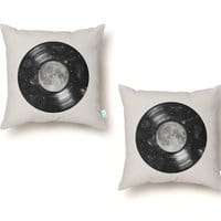 Galaxy Tunes - throw-pillow - small view
