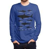 The Deadliest Sharks of All Time - mens-long-sleeve-tee - small view