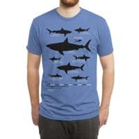 The Deadliest Sharks of All Time - mens-triblend-tee - small view