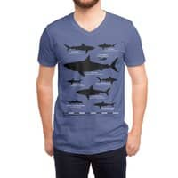 The Deadliest Sharks of All Time - vneck - small view