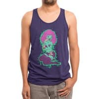 Dawn of the Centerfold - mens-triblend-tank - small view