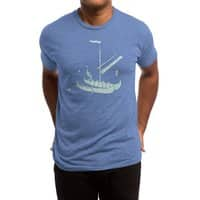 Vikings are just Swedish Pirates - mens-triblend-tee - small view