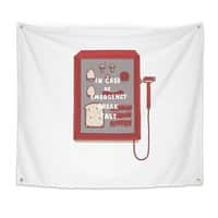Break Fast - indoor-wall-tapestry - small view