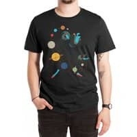 Mademoiselle Galaxy - mens-extra-soft-tee - small view
