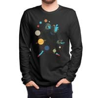 Mademoiselle Galaxy - mens-long-sleeve-tee - small view
