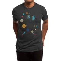 Mademoiselle Galaxy - mens-triblend-tee - small view