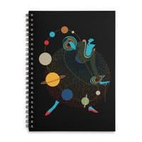 Mademoiselle Galaxy - spiral-notebook - small view