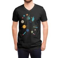 Mademoiselle Galaxy - vneck - small view