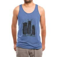 Four Spirits - mens-triblend-tank - small view